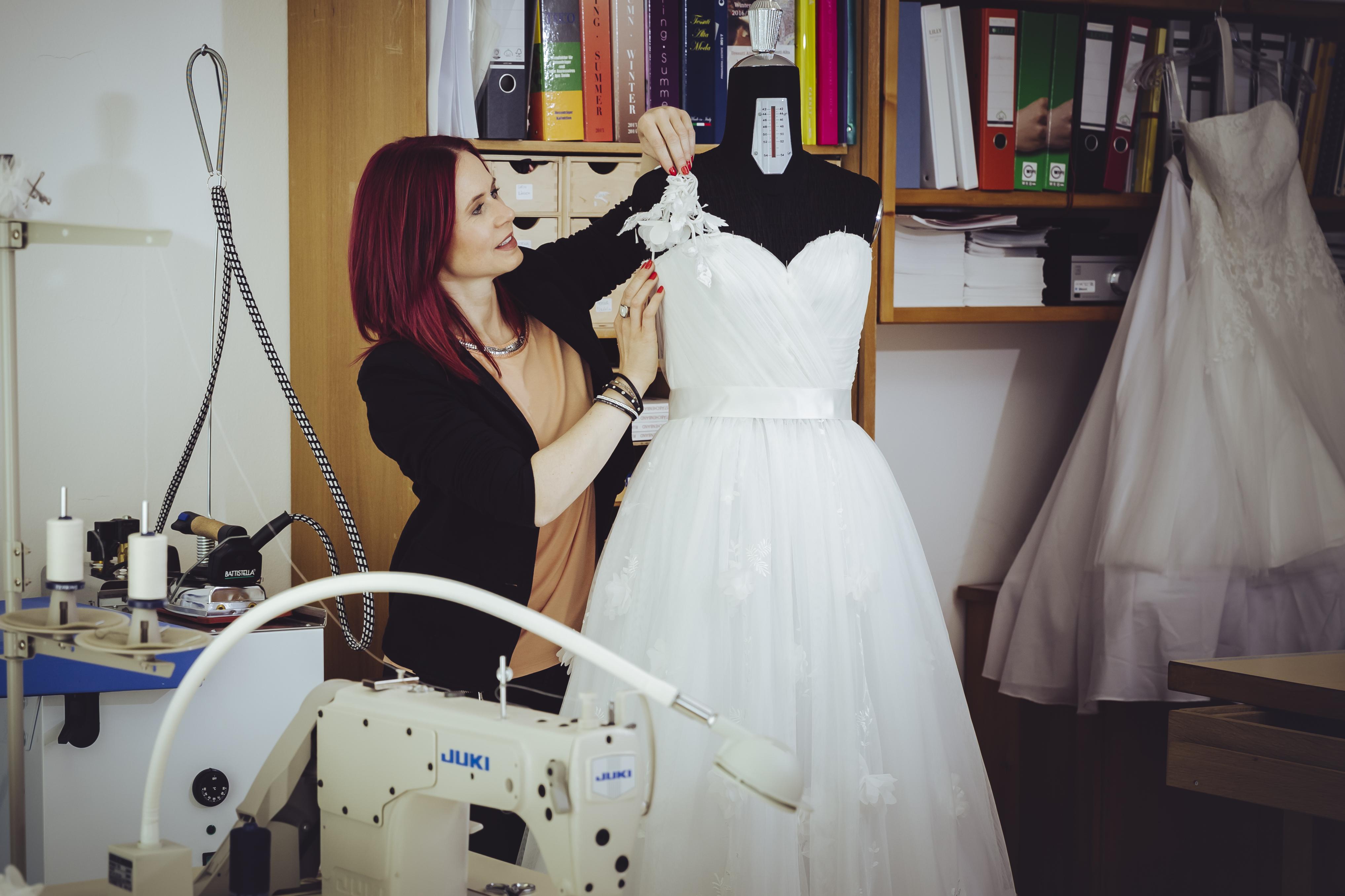 Über mich - Atelier Birgit Couture